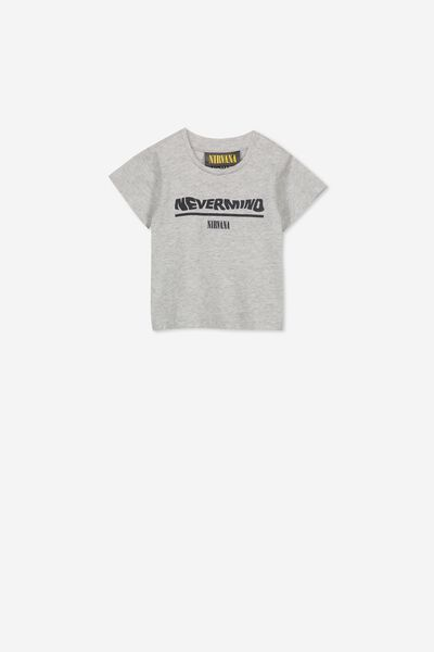Jamie Short Sleeve Tee, LCN LN CLOUD MARLE/NEVERMIND