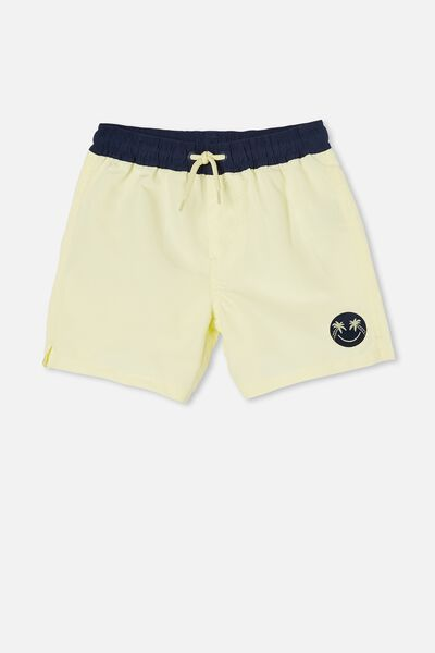 Bailey Board Short, LEMONADE/INDIGO WB