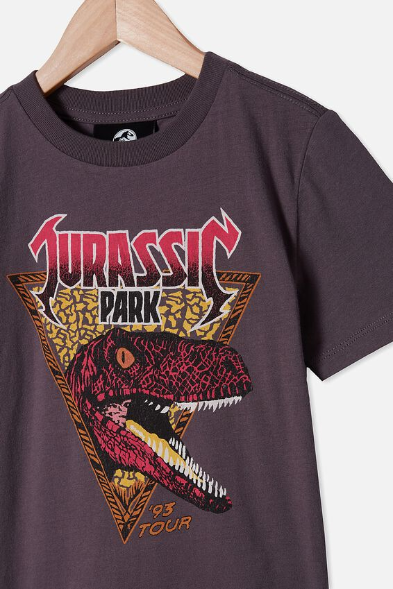 Co-Lab Short Sleeve Tee, LCN UNI RABBIT GREY JURASSIC PARK