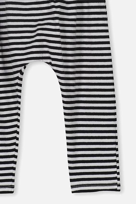 The Legging, CHRIS STRIPE WHITE BLACK