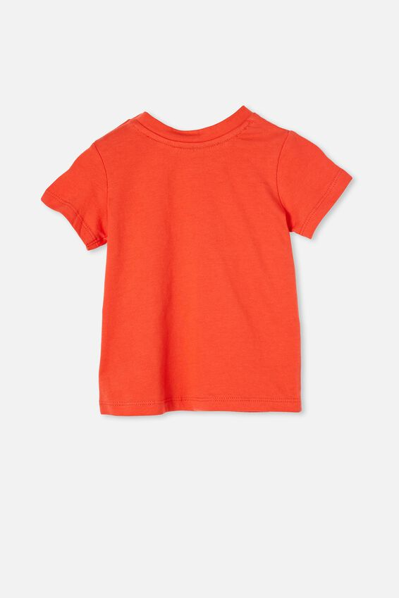 Jamie Short Sleeve Tee-Lcn, LCN DIS RED ORANGE/MICKEY FORTUNE COOKIE