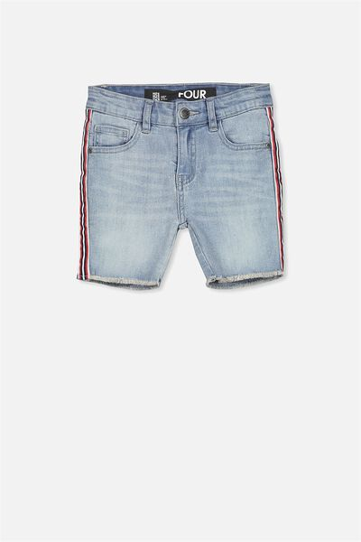 Pacey Denim Short, CALI BLUE