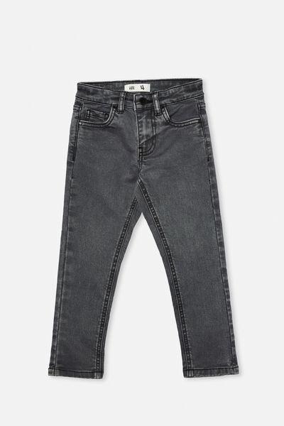 Ollie Slim Leg Jean, GUNMETAL WASH A