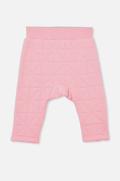 Emerson Quilted Trackpant, CALI PINK