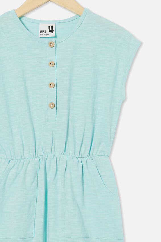 Sigrid Short Sleeve Dress, DREAM BLUE