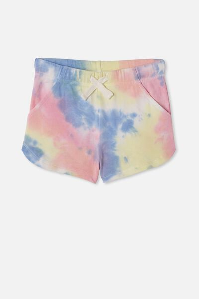 Gianna Knit Short, RAINBOW TIE DYE