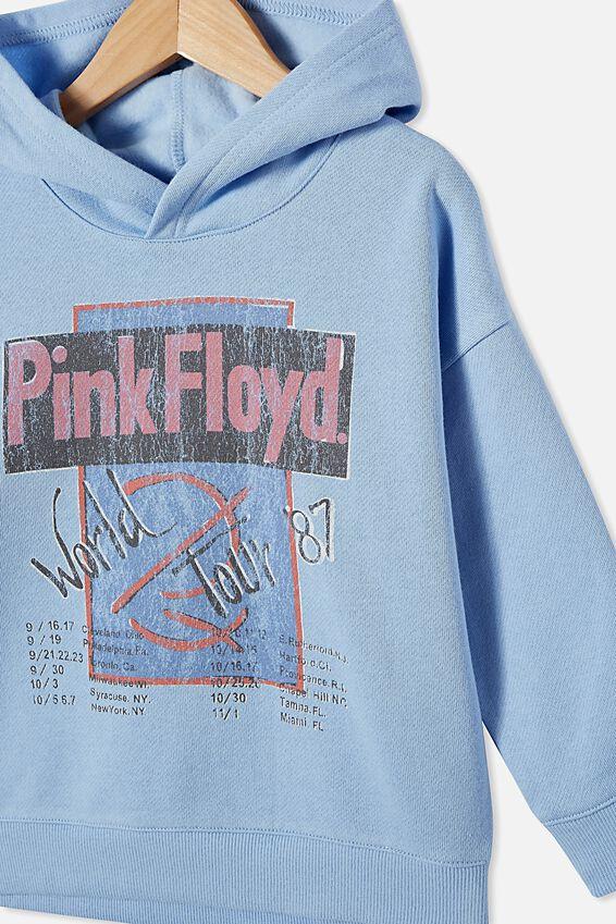 License Hoodie, LCN PER DUSK BLUE/PINK FLOYD WORLD TOUR  87