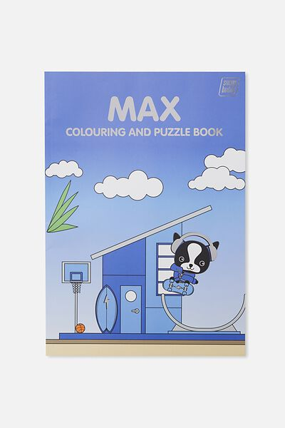Sunny Buddy Colouring In Book, MAX
