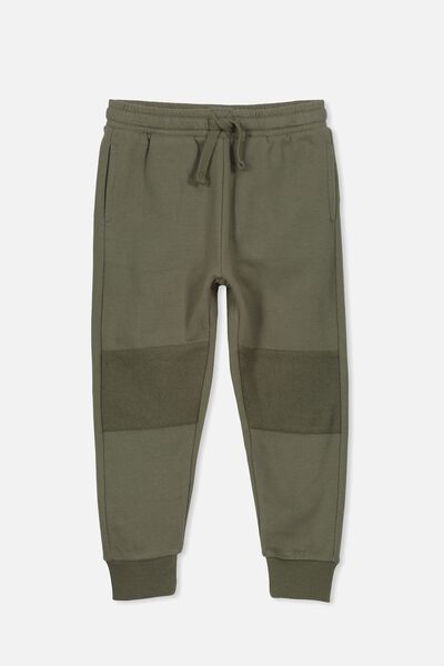 Lewis Trackpant, CLIVE GREEN/SPLICE