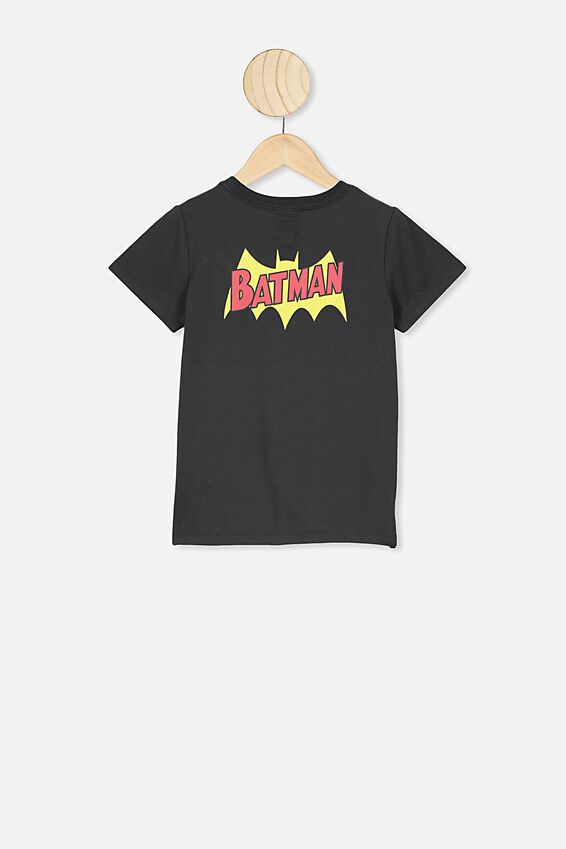 Short Sleeve License1 Tee, LCN WB PHANTOM/BATMAN STITCHED