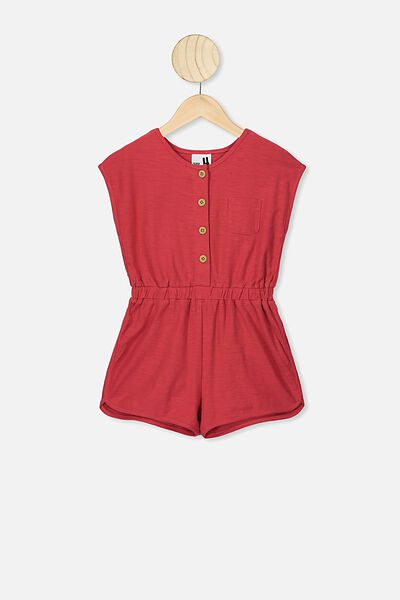 Edith Playsuit, LUCKY RED