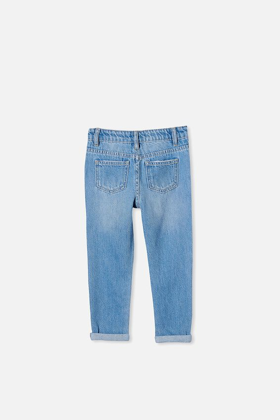 India Slouch Jean, WEEKEND WASH//RIPS
