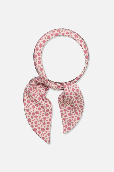 The Tie Headband, VERY BERRY/EDITH FLORAL