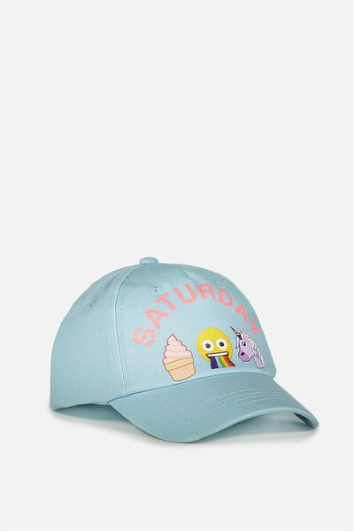 Licensed Baseball Cap, EMOJI SATURDAY MOOD
