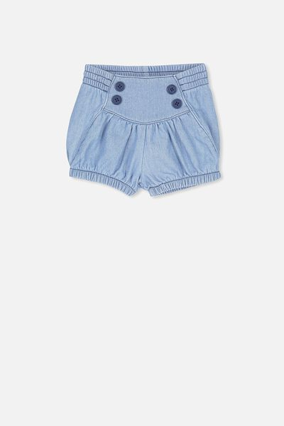 Sophia Short, LT BLUE WASH