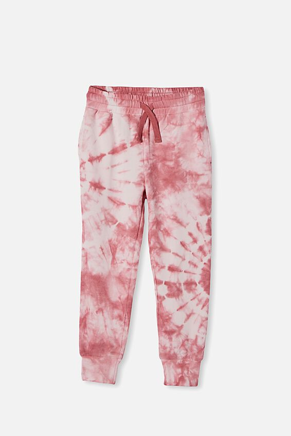 Corey Trackpant, VERY BERRY TIE DYE