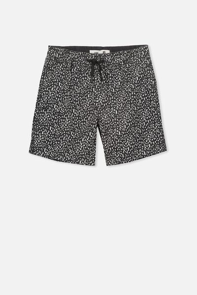 Murphy Swim Short, PHANTOM/LEOPARD SPOTS
