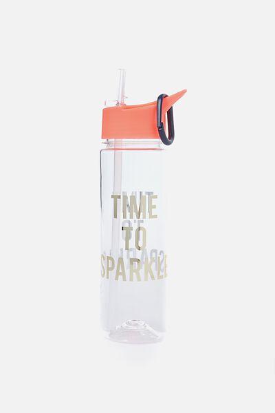 Summer Drink Bottle, SPARKLE TIME