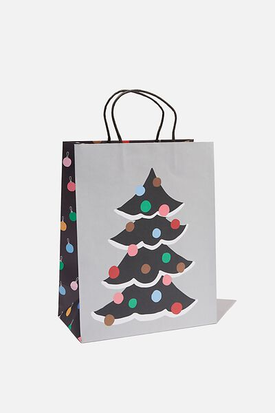 Christmas Gift Bag - Medium, PEACE AND JOY