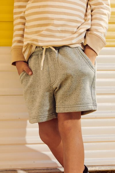 Henry Slouch Short, GREY MARLE