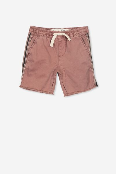 Rocco Short, WASHED RUSSET/STRIPE