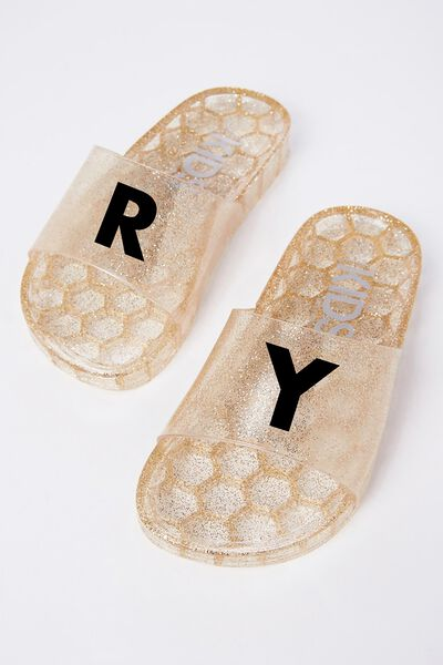 Jelly Pool Slide, FINE GOLD PERSONALISED