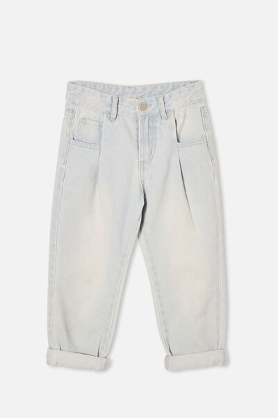 Rosita Balloon Leg Jean, BLEACH WASH