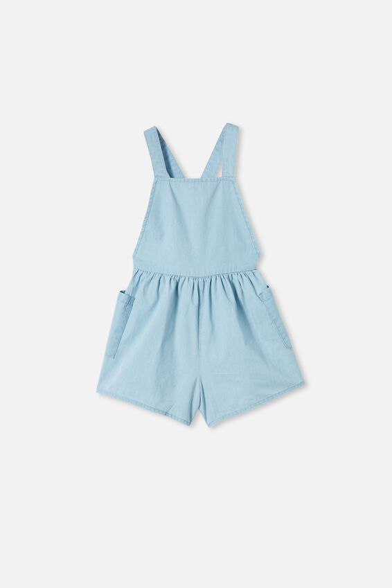 Tilly Playsuit, LIGHT WASH BLUE