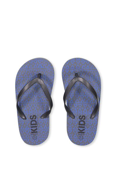 Printed Flip Flop, B TRIANGLES