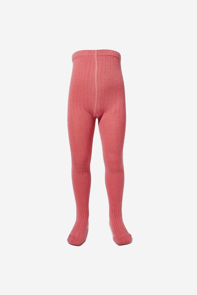 50132c2a62 Ribbed Solid Tight, RUSTY BLUSH. Cotton On Kids