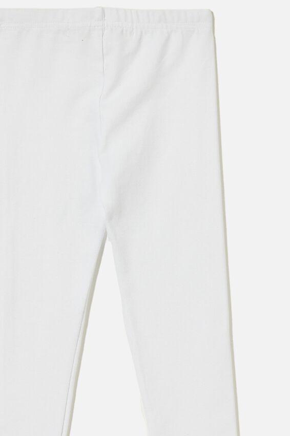 Huggie Leggings, WHITE