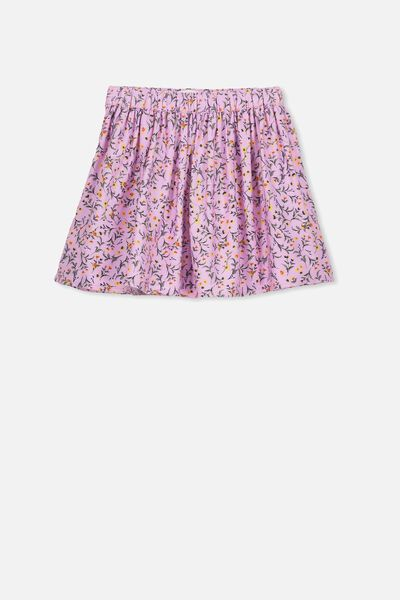 Ellie Flippy Skirt, LILAC DITSY