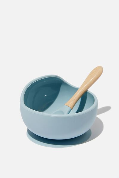 Silicone Bowl And Spoon, ETHER