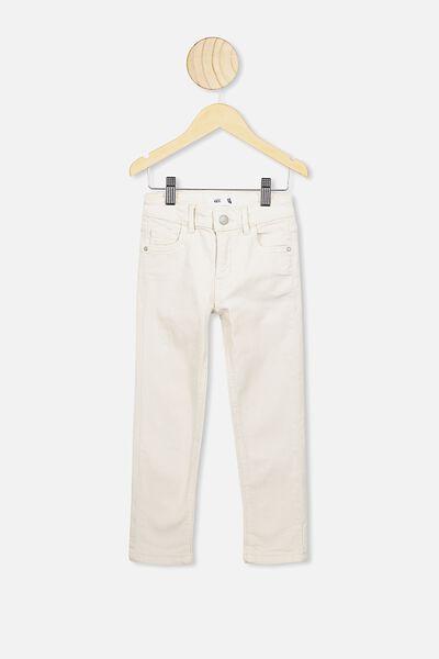 Ollie Slim Leg Jean, ECRU A