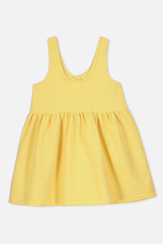 Anya Sleeveless Dress, CORN SILK
