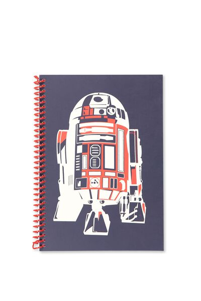A5 Everyday Sketch Book, NAVY R2D2