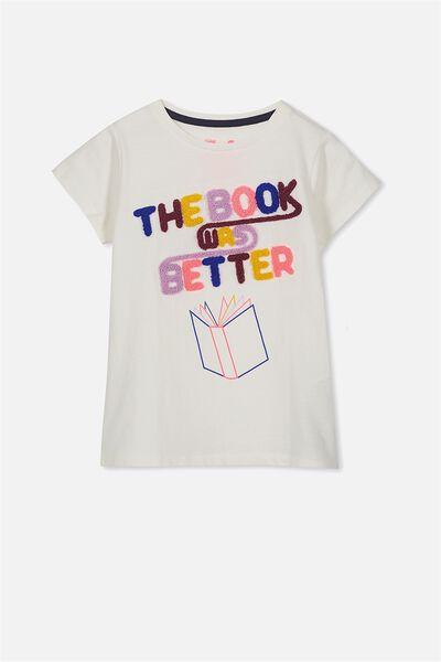 Anna Ss Tee, VANILLA BOOK WAS BETTER/ SET IN