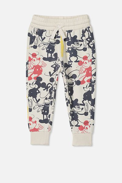 License Slouch Trackpant, LCN DIS/MICKEY YARDAGE