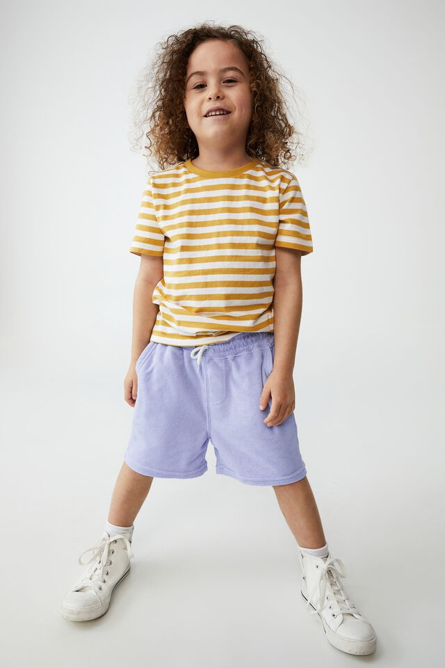 Henry Slouch Short 80/20, SMOKEY LILAC/TERRY TOWELLING
