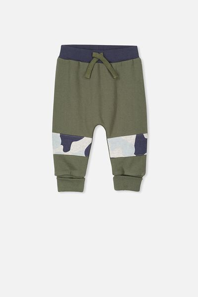 Shelby Trackpant, CLIVE GREEN/CAMO