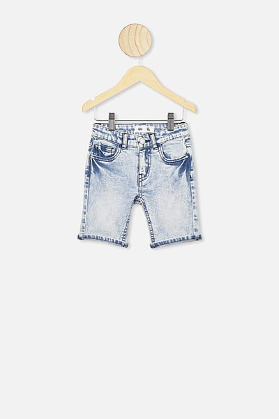 Bermuda Dnm Short, ICE WASH RR