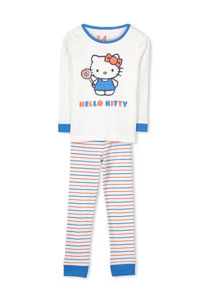 Girls Hello Kitty Long Sleeve PJ Set, HELLO KITTY LOLLYPOP