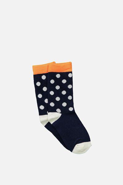 Fashion Kooky Socks, LARGE SPOT