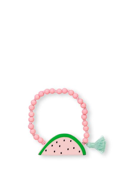 Fruity Charm Bracelet, WATERMELON
