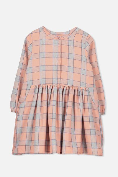 Sami Shirt Dress, CAMEO BROWN CHECK