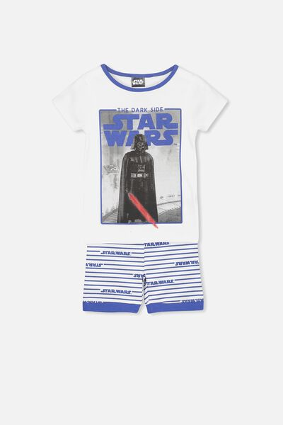 Joshua Short Sleeve Pyjama Set, LCN STAR WARS DARKSIDE