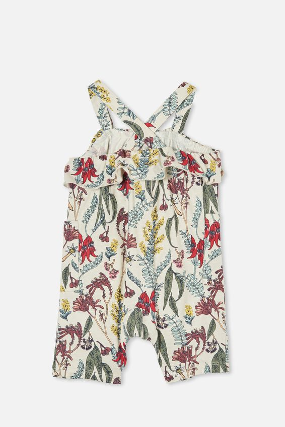 Halle Playsuit, RAINY DAY/SHARON FLORAL