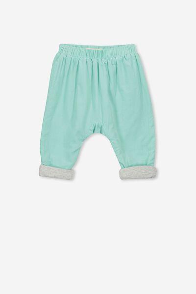 The Baby Cord Pant, AQUA LAKE