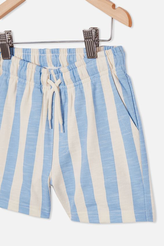 Henry Slouch Short 60/40, CANDY STRIPE/DUSK BLUE