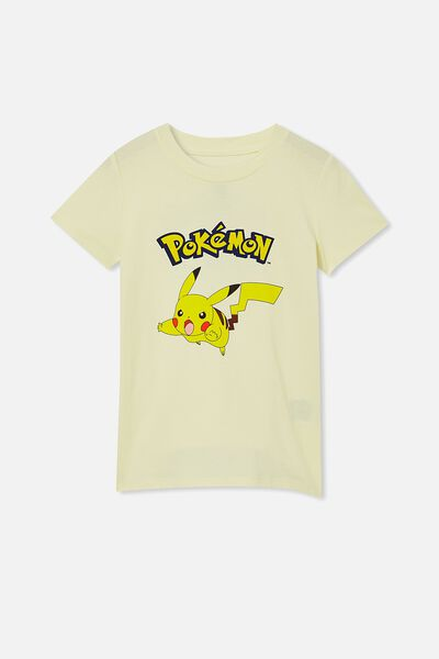 Short Sleeve License1 Tee, LCN POK LEMONADE/POKEMON PIKACHU
